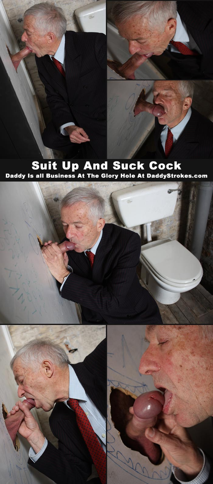 grand pa suit cock