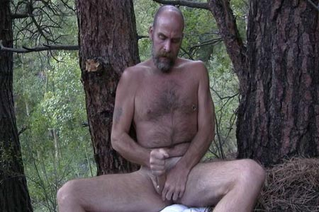 Can Naked daddy in wood consider, that