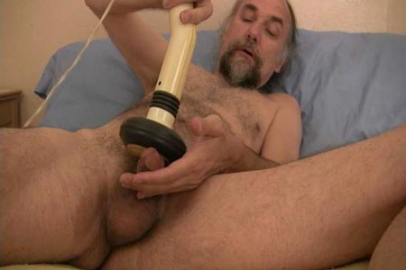Guys jerking off with toys