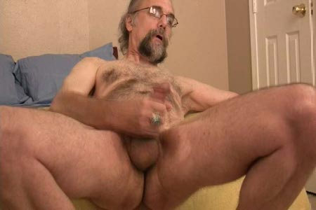 Older Man Jacking Off