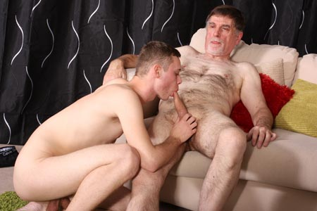 Horny older gay
